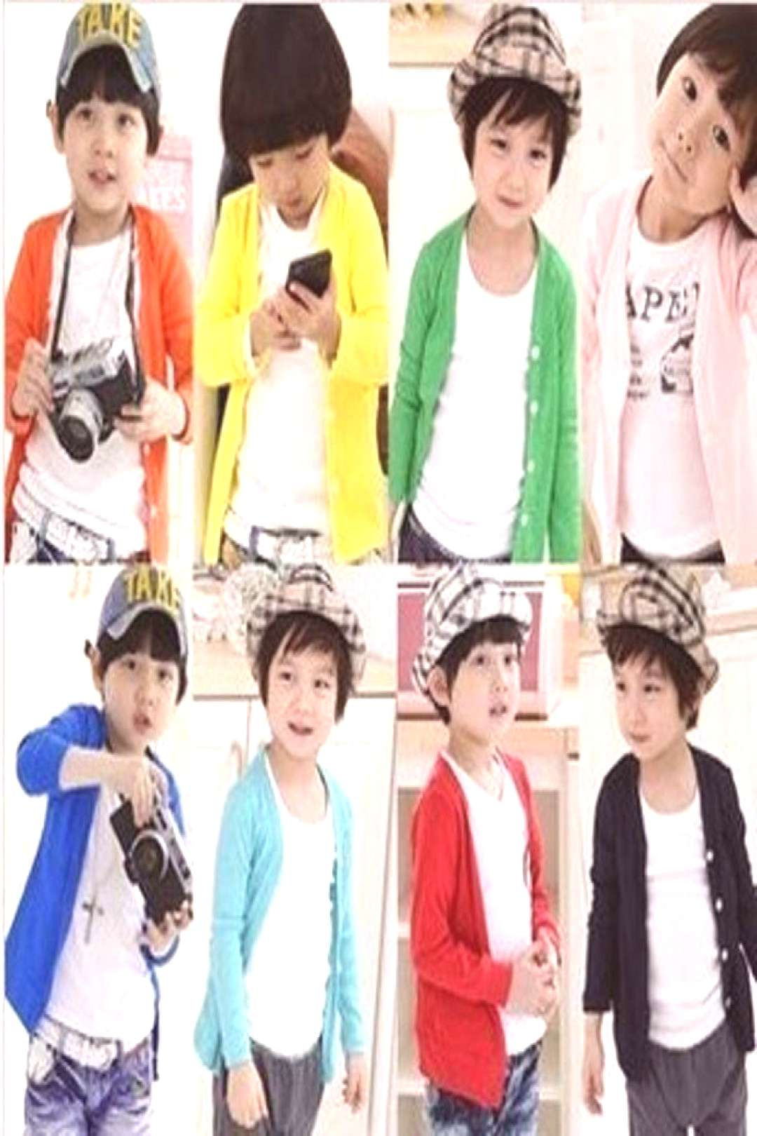 New Style Spring Autumn cotton candy-colored cardigan boys girls cardigan