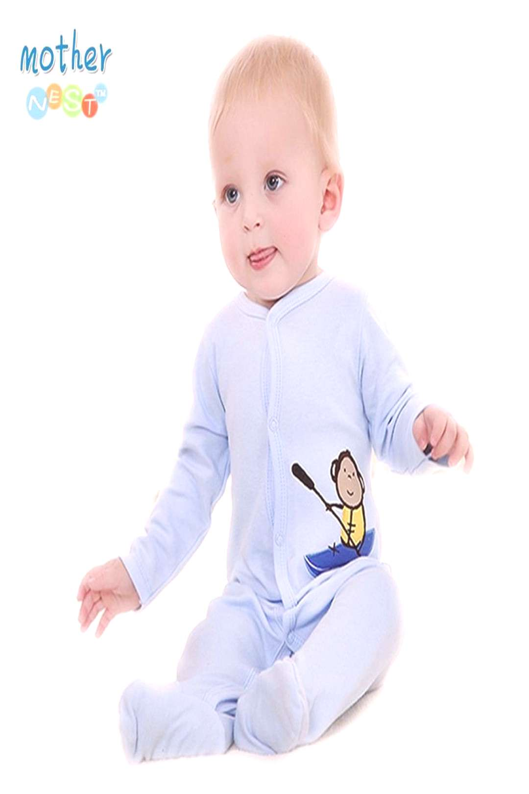 2016 Retail New Fashion Baby Romper Clothing Body Suit Newborn Long Sleeve Kids Boys Girls Rompers