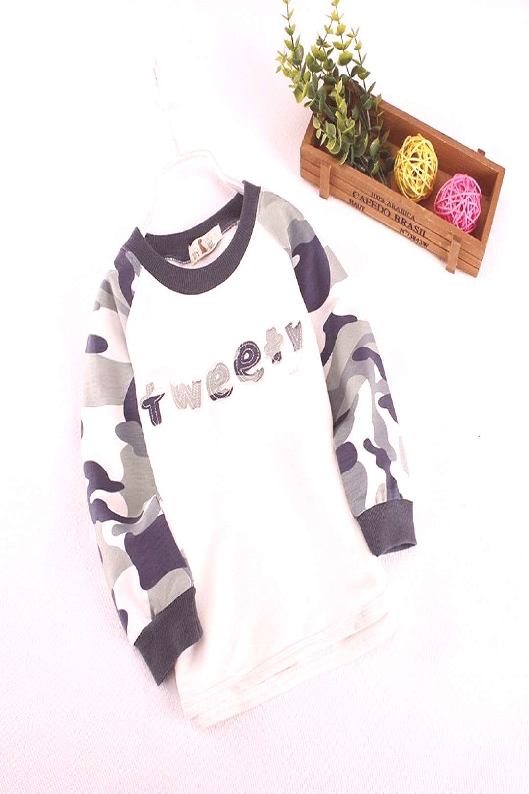 2017 Boys Pullovers Camouflage Sweaters Children Clothes High Quality Autumn/winter Warm Cartoon Ki