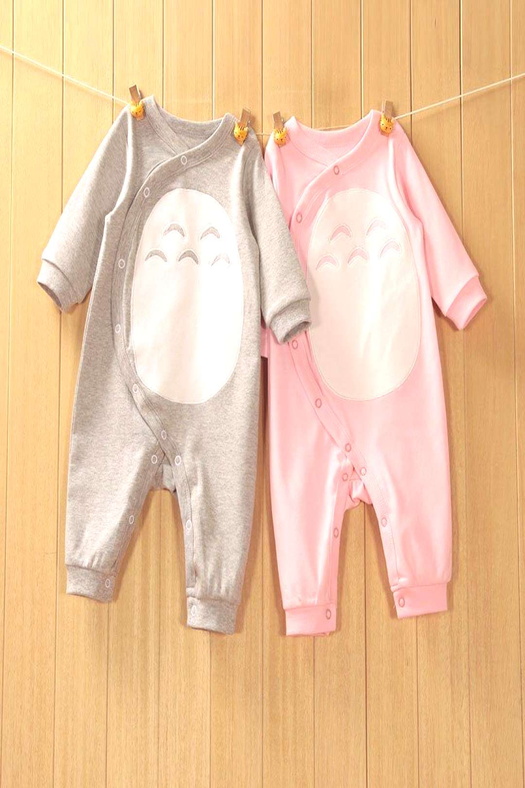 2017 High Quality Newborn Baby Romper Style Totoro Baby Spring Romper Soft Comfortable Breathe Free