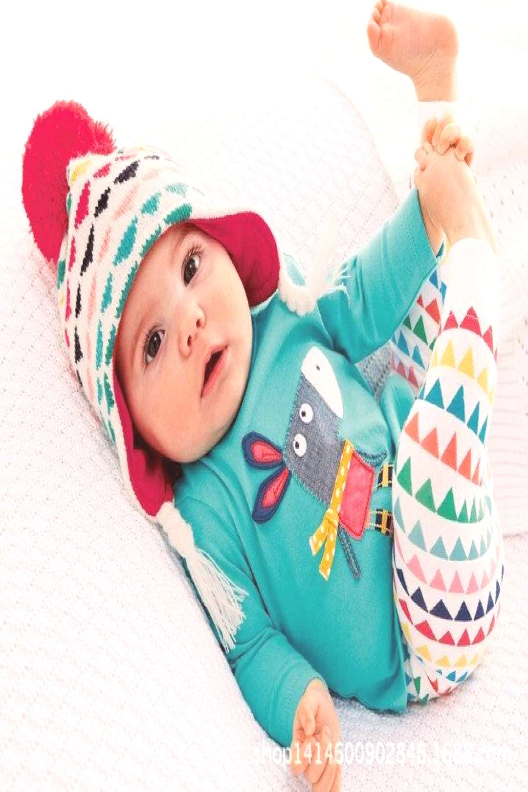2017 New summer Baby girl clothes cotton Fashion letters printed T-shirt+trousers 2pcs baby boys cl