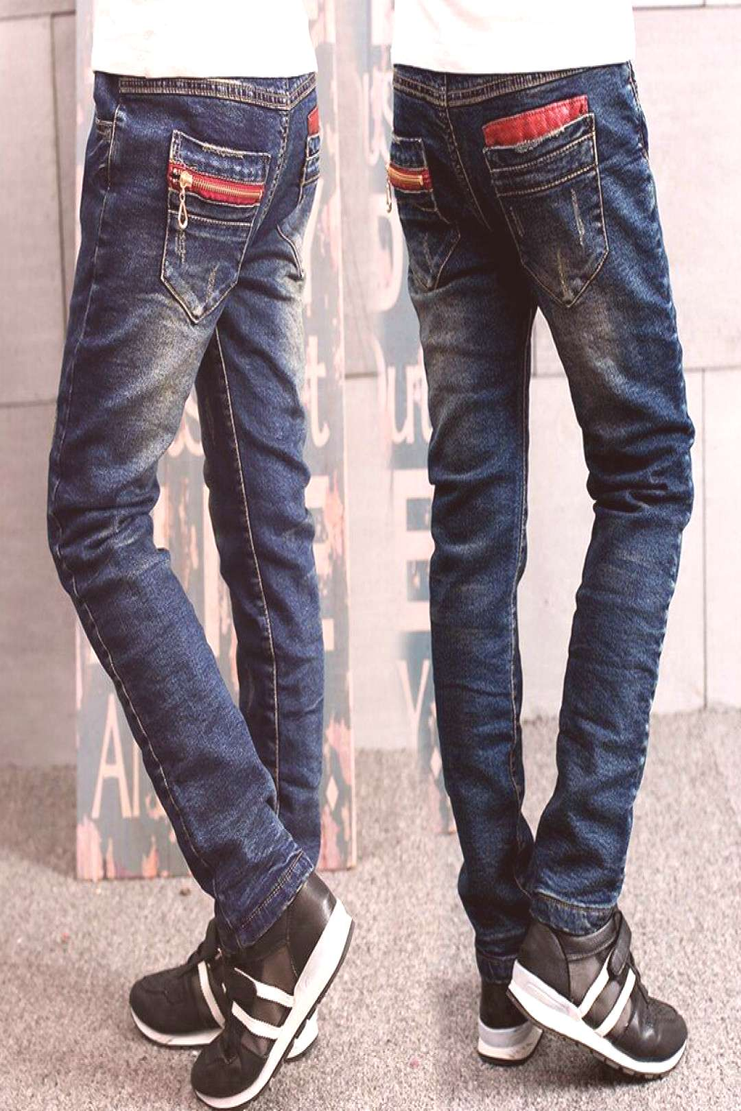 2017 spring childrens children boys jeans solid thin denim baby boys jeans for big kids boys causa