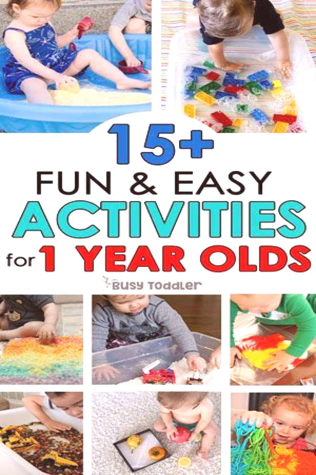 30+ Easy Activities for 1 Year Olds - Busy Toddler 30+ Easy Activities for 1 Year Olds - Busy Toddl