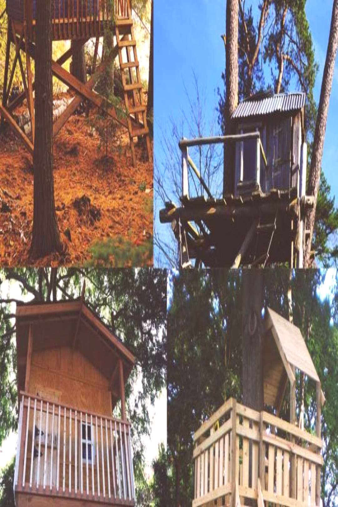 30 Free DIY Tree House Plans To Make Your Childhood (or Adulthood) Dream Realities ...
