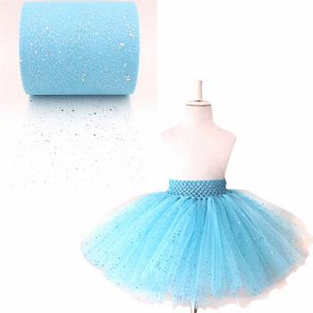 2016 new sequins tulle roll turquoise sequins tulle roll 6 - Buy it Now!