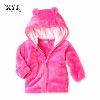 2017 Baby hoodies Autumn Winter Clothing Newborn Baby Boy Girl Clothes Thick Tops Children Outerwea