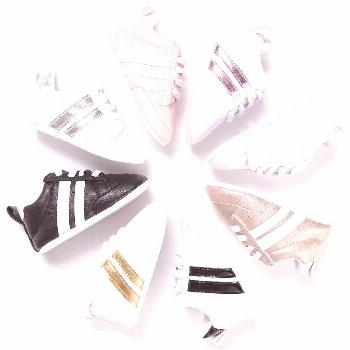 2017 New Fashion Sneakers Newborn Baby Crib Shoes Boys Girls Infant Toddler Soft Sole First Walkers