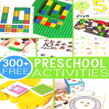 300+ free preschool activities for learning to start your students on the path to loving learning!