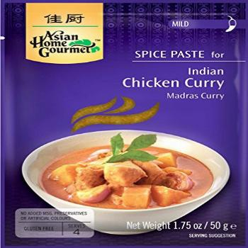 Asian Home Gourmet Indian Chicken Curry Spice Paste, 1.75oz.