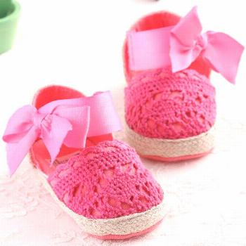 Baby First Walkers Baby Shoes Cute Knitting Non-slip Soft Bottom Toddler Shoes for Baby Girls - Buy