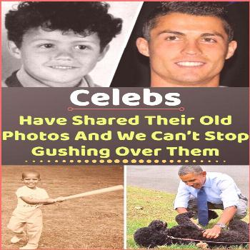 Celebs Have Shared Their Old Photos And We Can't Stop Gushing Over Them Photos can be a great way