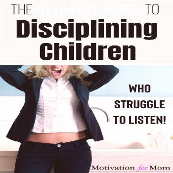 Check this out for plenty of ideas for how to discipline children, disciplining toddlers, and other
