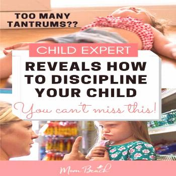 Child Expert, Christine Duff, reveals how to discipline your child the right way if they have a tan