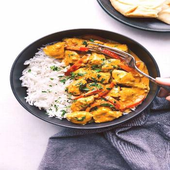 Coconut Curry Chicken {30 Minutes!} | Chelsea's Messy Apron