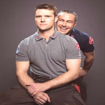 Discovered by duff_lea. Find images and videos about chicago fire, taylor kinney and jesse spencer