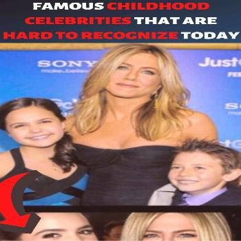 Famous Childhood Celebrities That Are Hard To Recognize Today - -