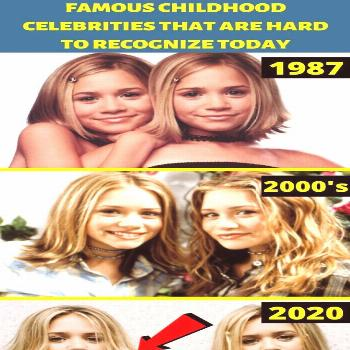 Famous Childhood Celebrities That Are Hard To Recognize Today  To