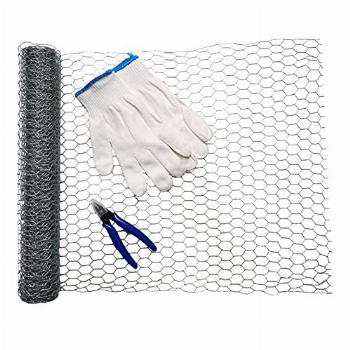 Ha1cyon 15 x 200 Inches Large Chicken Wire Fencing Poultry