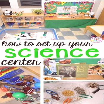 How to set up the Science Center in your Early Childhood Classroom - Pocket of Preschool How to set