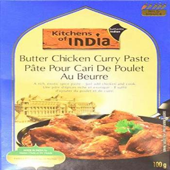 Kitchens of India Paste, Butter Chicken Curry, 3.5-Ounces,