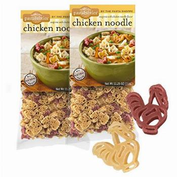 Pastabilities Chicken Noodle Soup, Fun Chicken Shaped