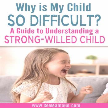 Raising a strong-willed child is not easy. It can often seem like there is no end to the power stru