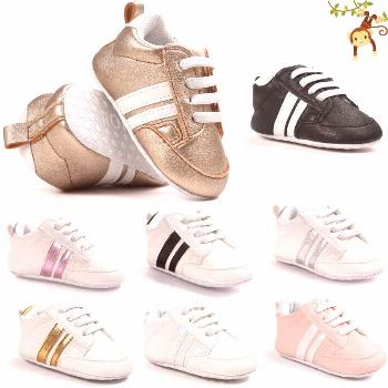 ROMIRUS Baby Boys Sneakers indoor Toddler Shoes First Walkers Soft Bottom For Children Kids Girls -