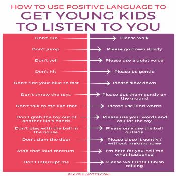 The one easy change that will make young kids listen to you more        Avoir un enfant de 2 ou 3 a