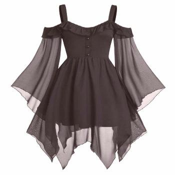 They are beautiful, lovable and affordable. You deserve it! Butterfly Sleeve Col... - They are beau