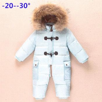 Winter newborn clothes children's clothing winter outwear new year costume down jacket jumpsuit for