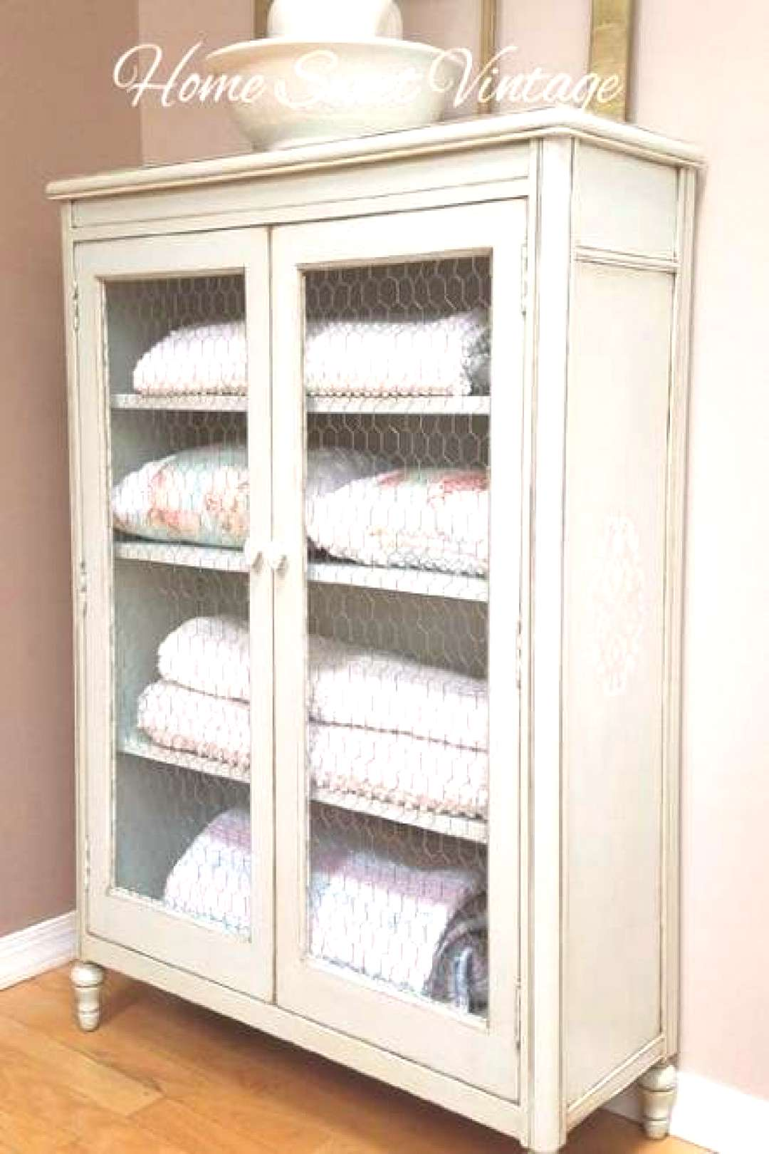 40 Ideas Farmhouse Cabinets With Chicken Wire