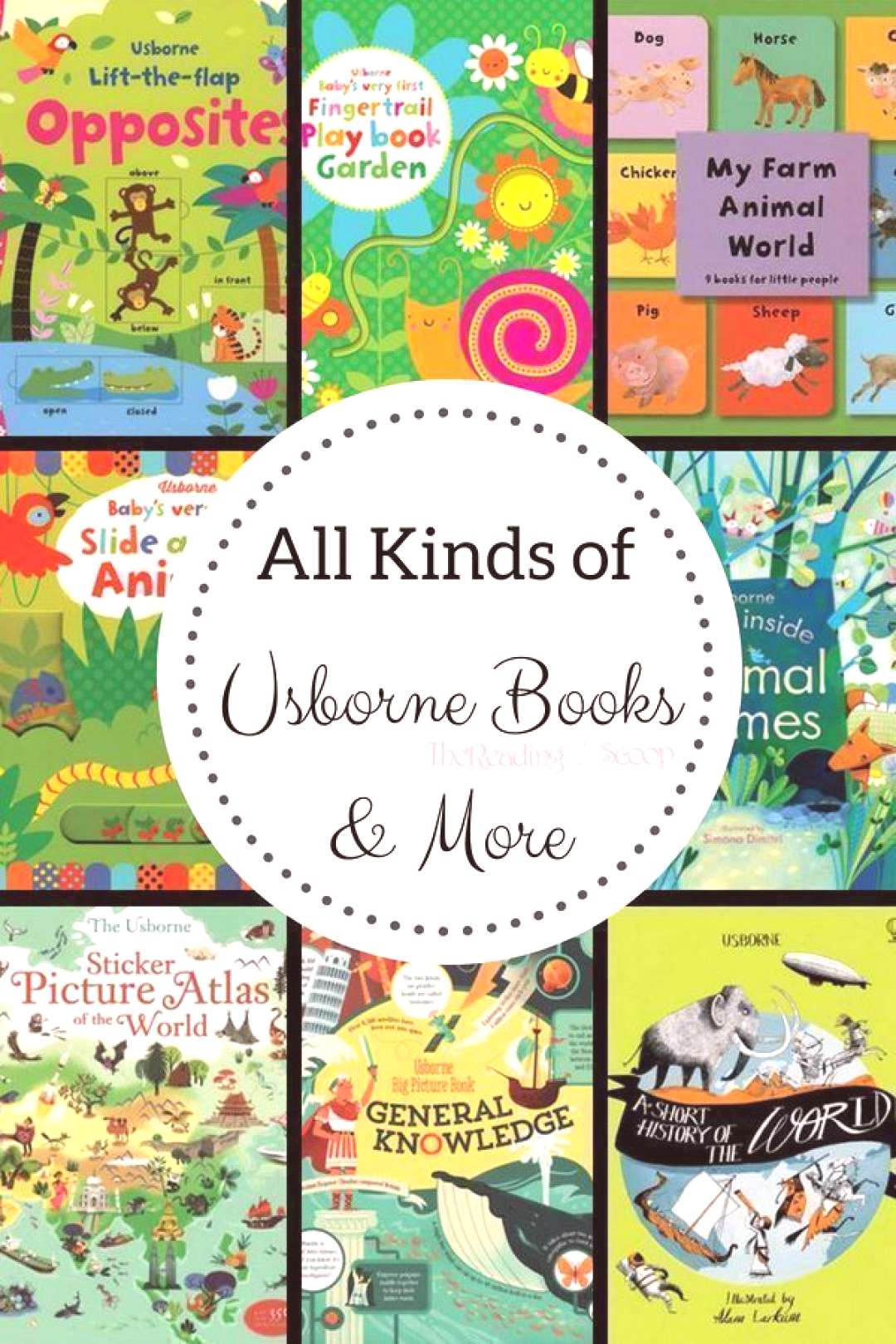 All Kinds of Usborne Books More - The Reading Scoop How many books have you discovered with Usborn