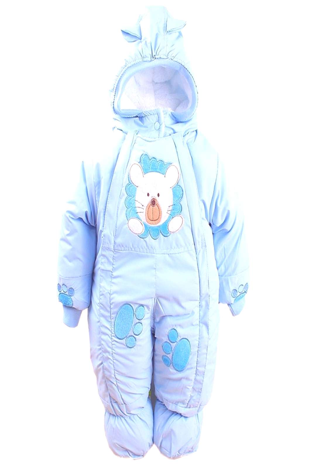 Autumn amp Winter Newborn Infant Baby Clothes Fleece Animal Style Clothing Romper Baby Clothes Cotton