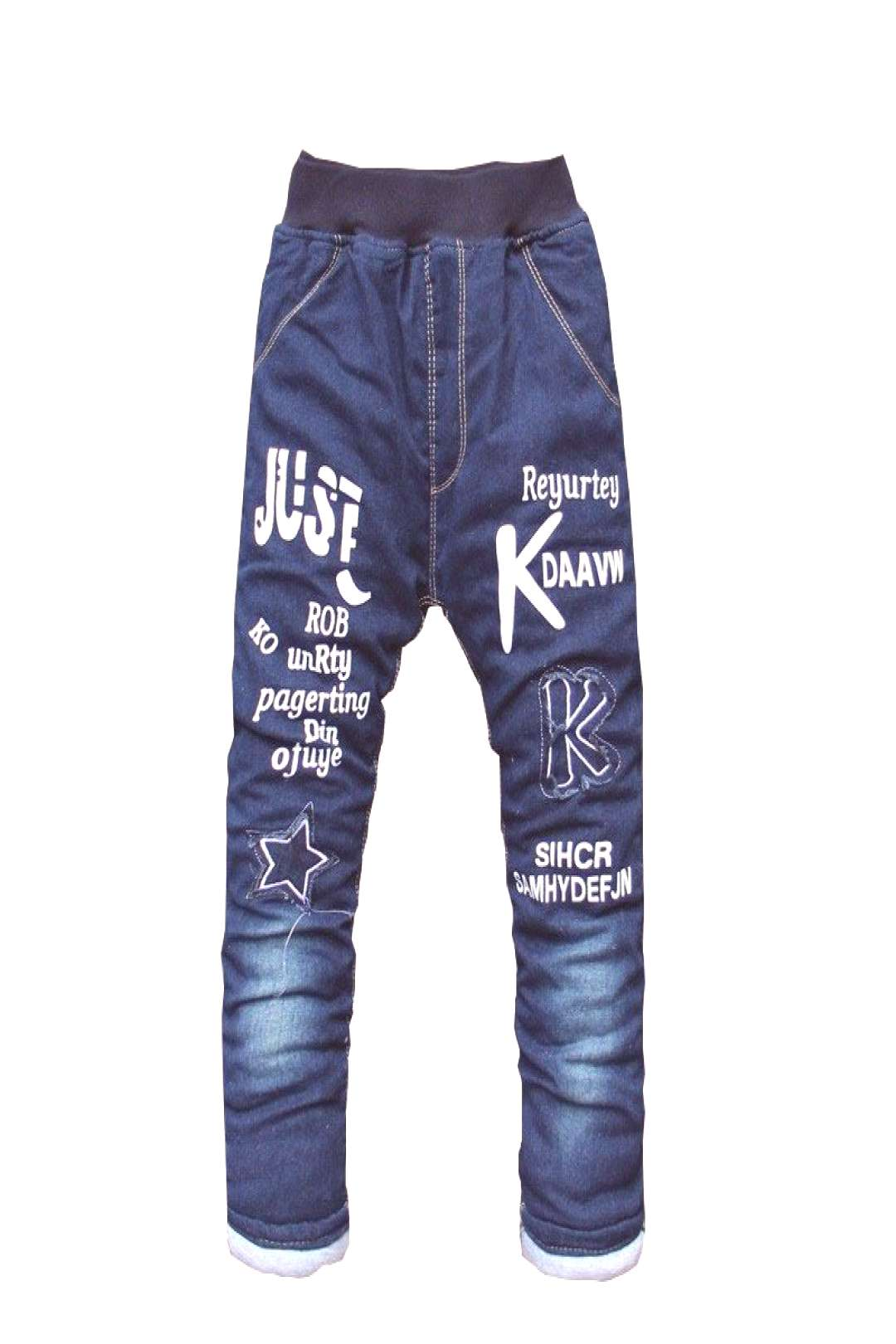 BibiCola Boys Pants Long Trousers For Boys Thick Warm Winter Spring Jeans Baby Boys Pants Winter Je