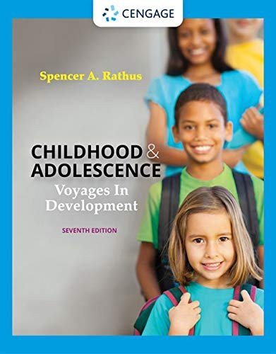 Childhood and Adolescence Voyages in Development (MindTap