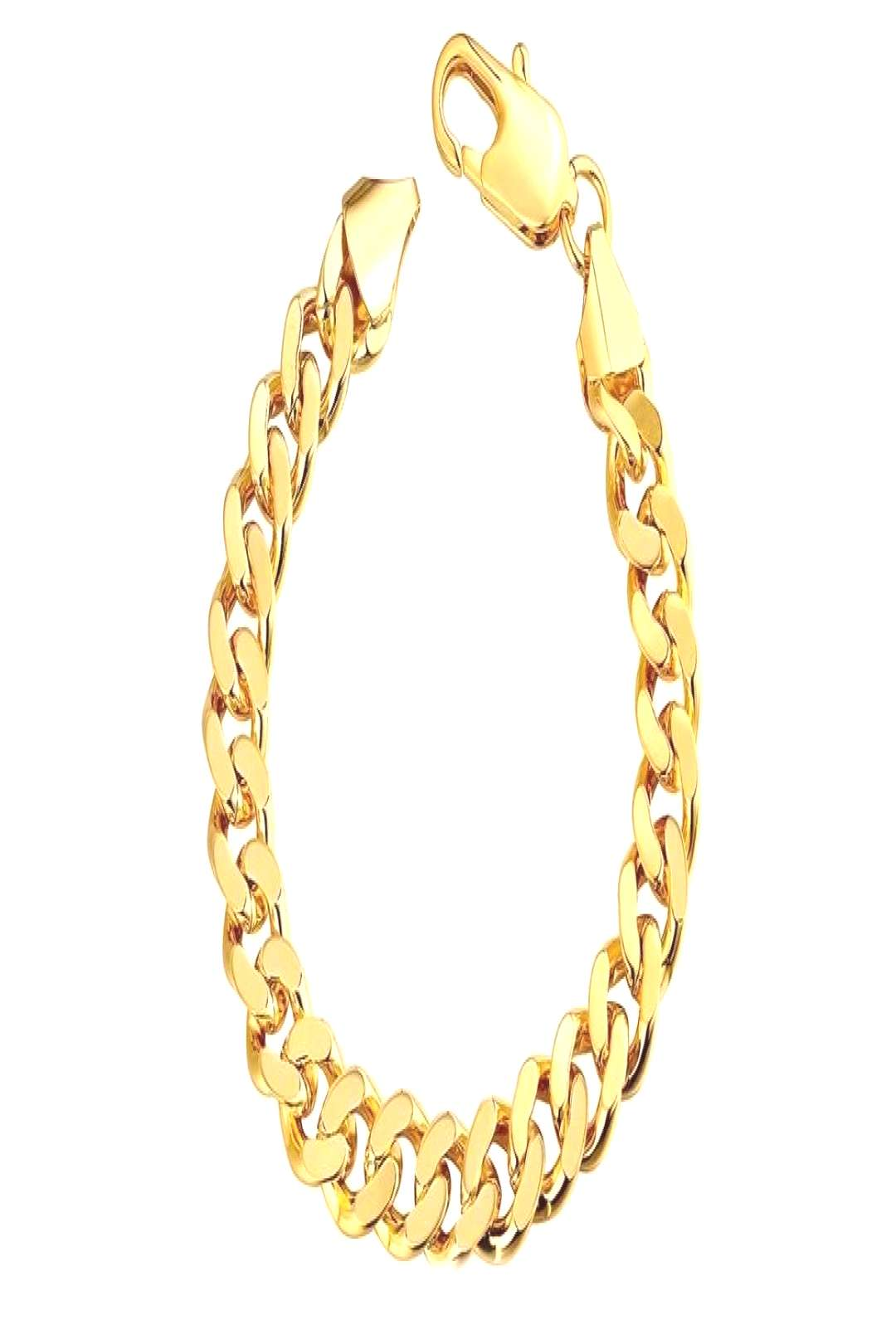 Class Curb Bracelet in 7.5quot in 14K Gold Plated