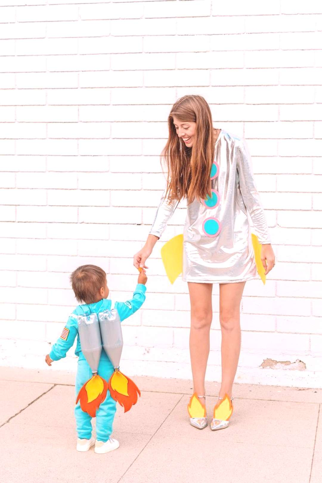 DIY Space Family Costume.