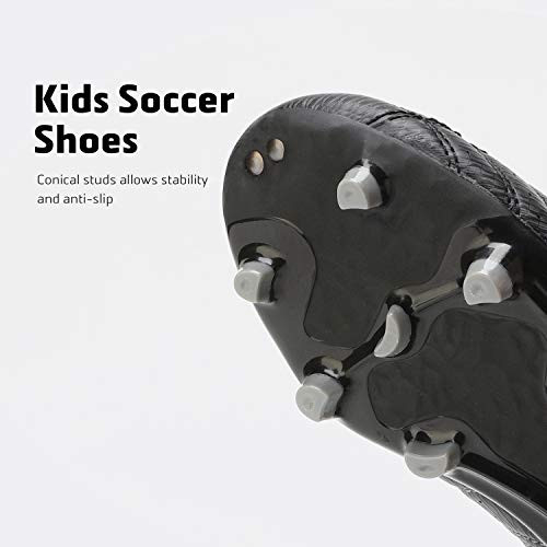DREAM PAIRS 160471-K Kids Fashion Soccer Shoes Outdoor