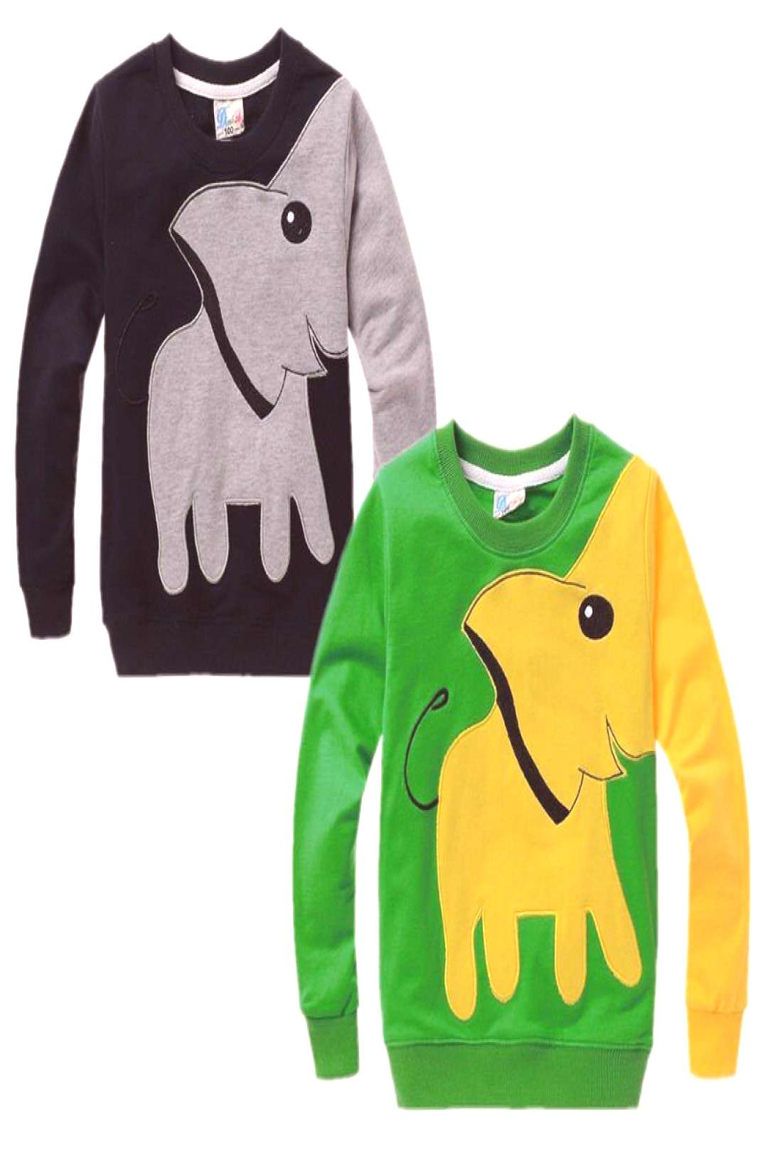 Elephant Baby Kids Boys Clothes Long Sleeve Tops T-shirt Pullover Sweatshirt kids boys tops Childre