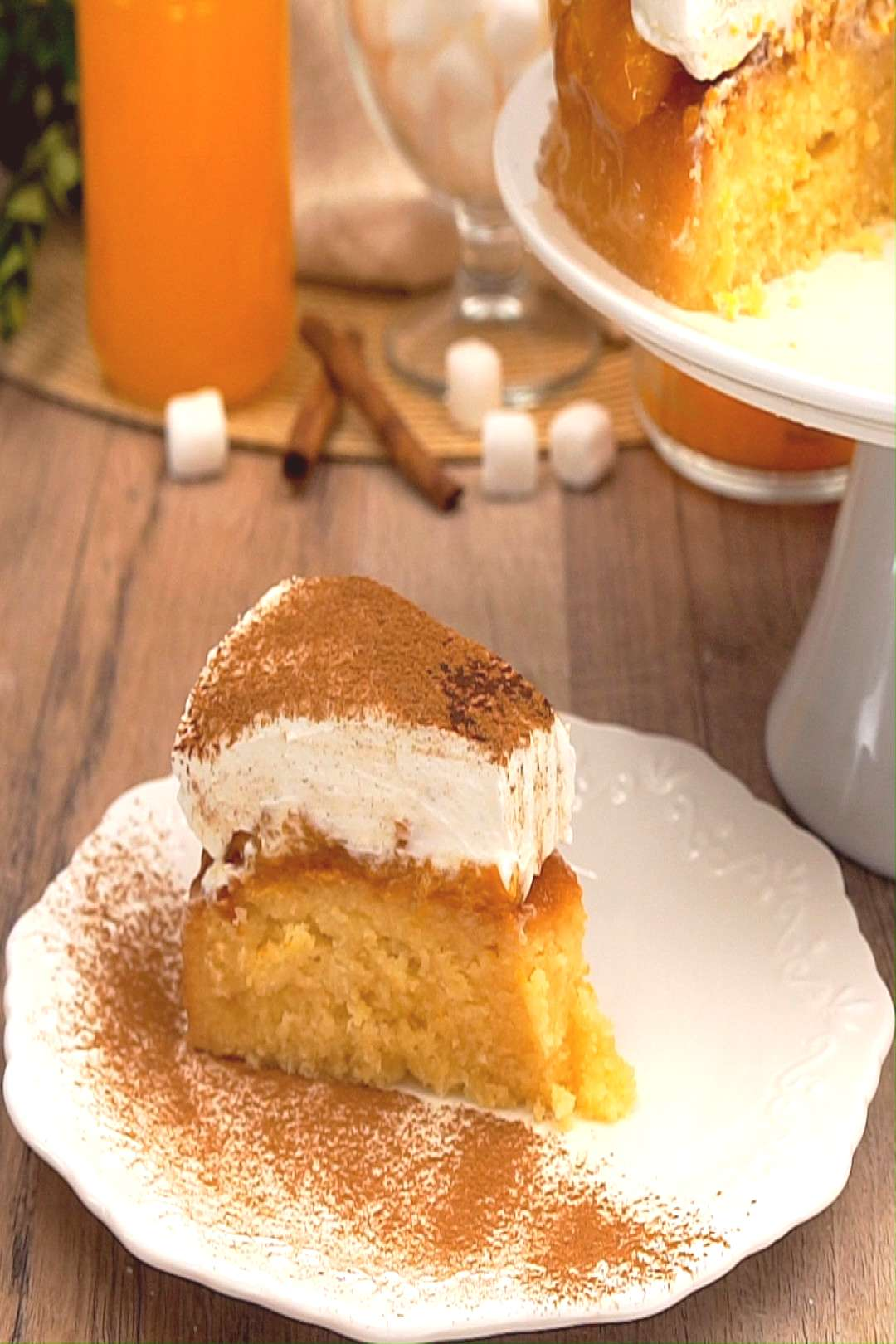 Fanta cake the classic from childhood - Fanta cake is THE childhood classic par excellence. We ha