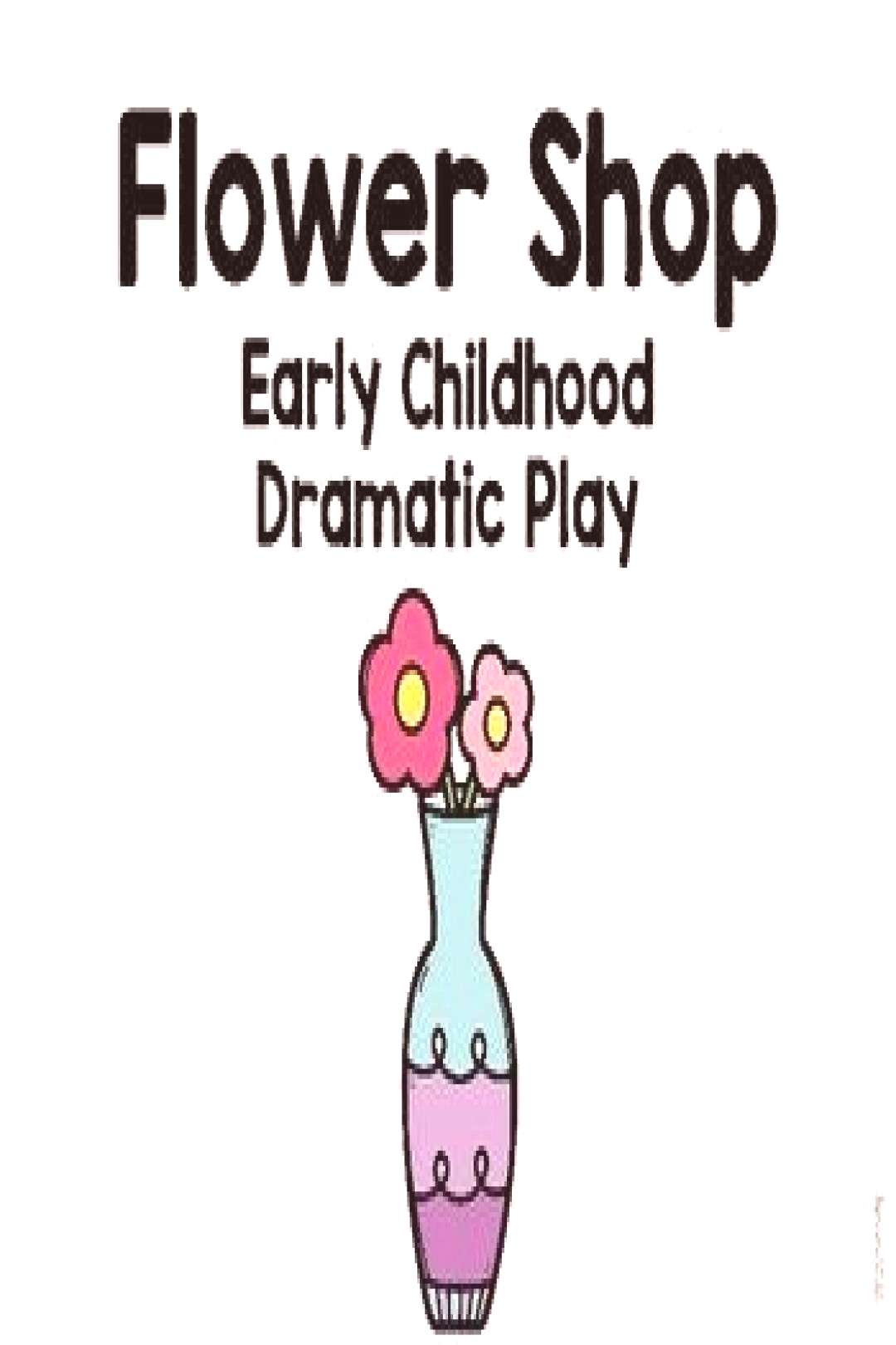 Flower Shop Early Childhood Dramatic Play#childhood