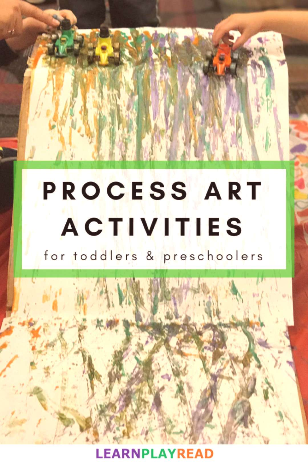 Group Process Art Activities for Toddlers and Preschoolers