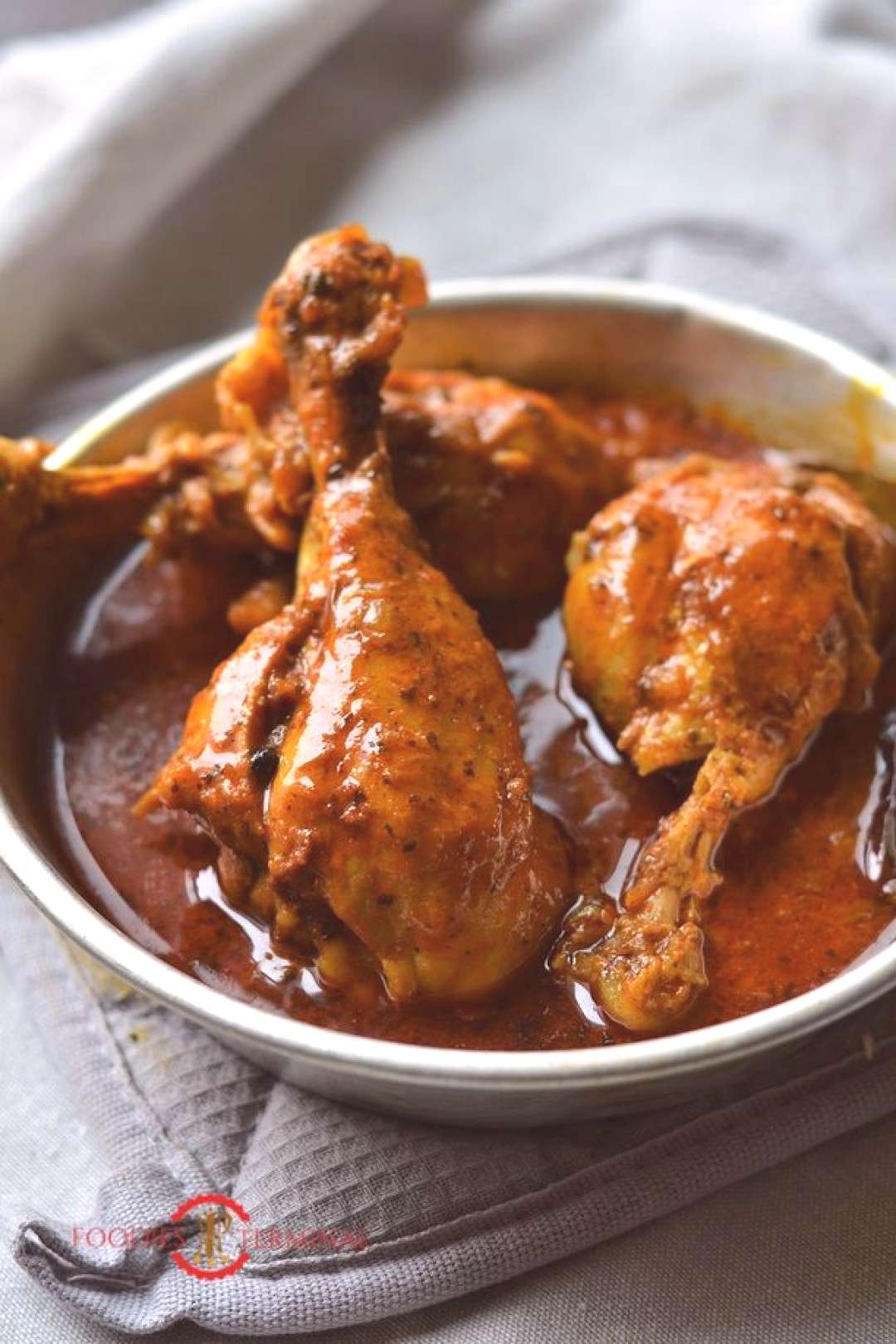 Instant Pot Indian Chicken Curry Recipe (Video)   Pressure Cooker Chicken Curry » Foodies Terminal