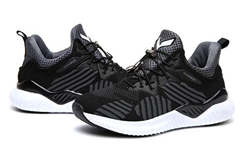 JMFCHI Boys Girls Kids Sneakers Knitted Mesh Sports Shoes