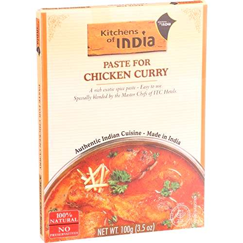 Kitchens of India Chicken Curry Paste, 3.5 Ounce - 6 per