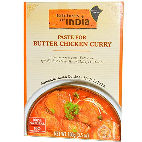 Kitchens of India, Paste for Butter Chicken Curry, 3.5 oz