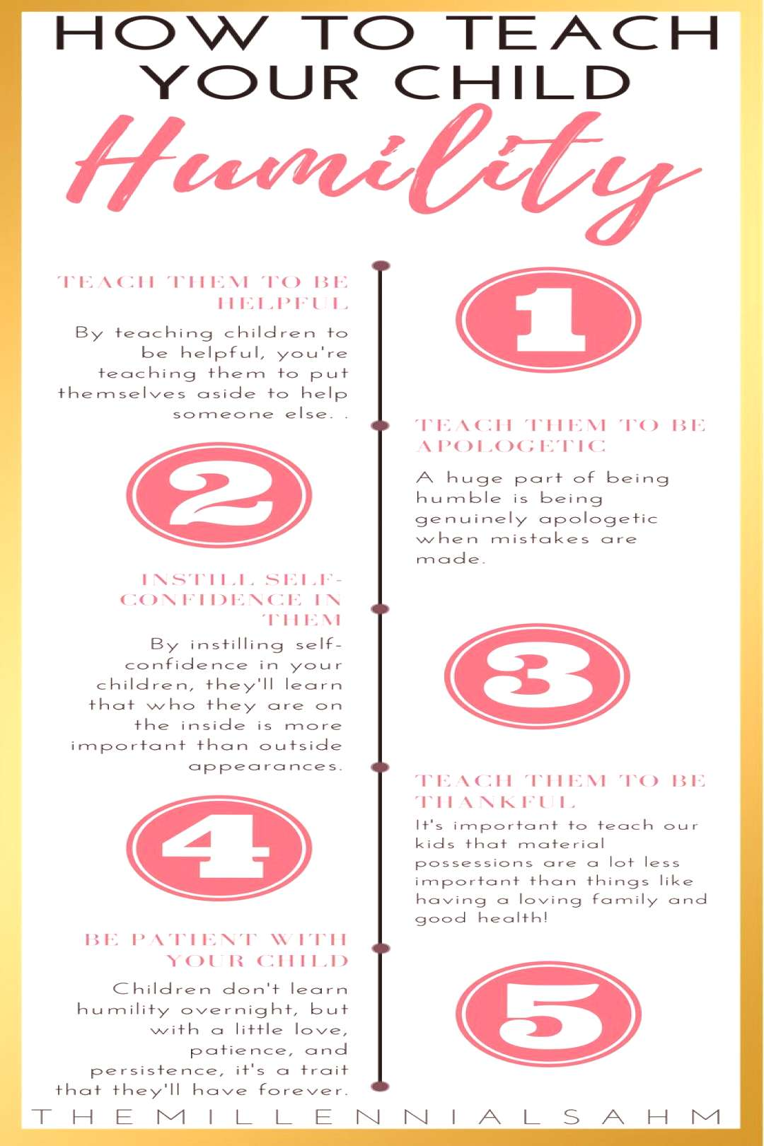 Learn How To Teach Your Child Humility in 5 simple steps. Positive Parenting   Raising Great Childr
