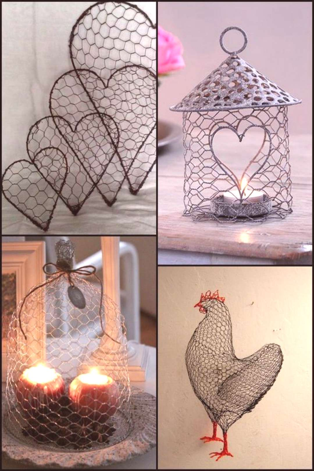 Make Use of Your Excess Chicken Wire with These Beautiful Craft Ideas!