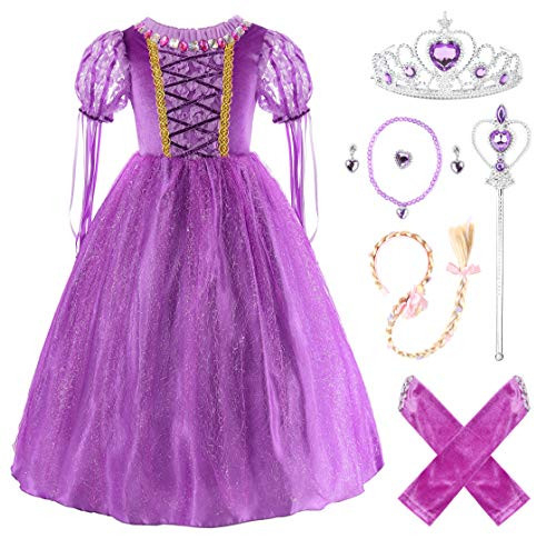 Ohlover Girls Princess Fancy Costume Halloween Cosplay Party