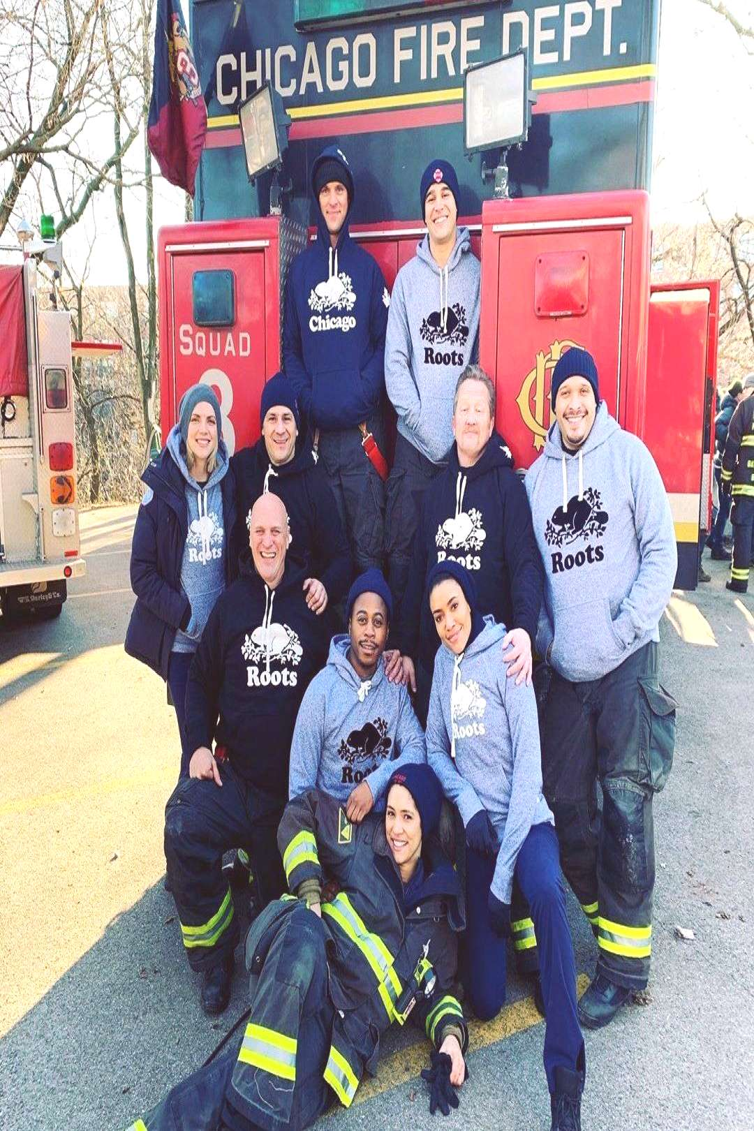One Chicago Updates on Twitter quot?   New photo from the set of Chicago Fire.… quot